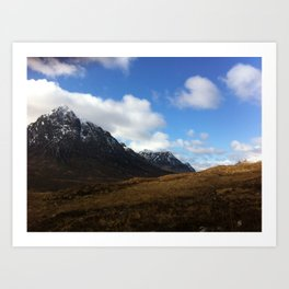 Scottish Highlands: Glen Coe Art Print