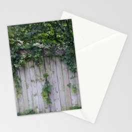 The Green Can Never Be Blocked Stationery Cards