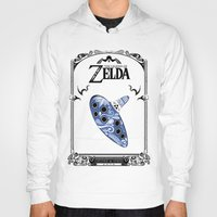 majora Hoodies featuring Zelda legend - Ocarina of time by Art & Be