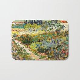 Vincent van Gogh - Garden at Arles Bath Mat