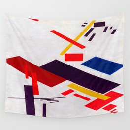 Kazimir Malevich House Under Construction Wall Tapestry