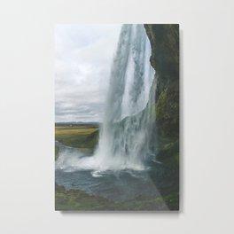 Raining Water Metal Print