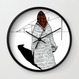 The Old Sorceress Wall Clock