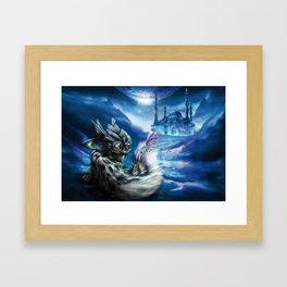 Kuni Framed Art Print