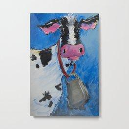 Cattle Call Metal Print
