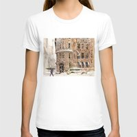 takmaj T-shirts featuring Winter in NYC by takmaj