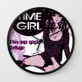 SLEEPY TIME GIRL Wall Clock