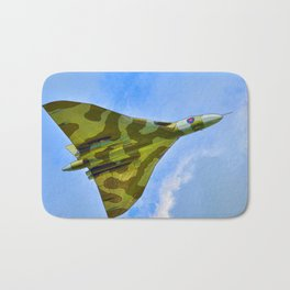 Cartoon Vulcan XH558 Bath Mat