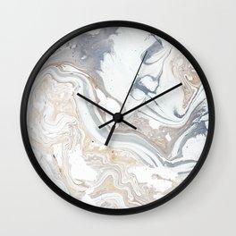 Milk and Honey Wall Clock