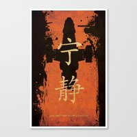 firefly Canvas Prints featuring Firefly by Edmond Lim