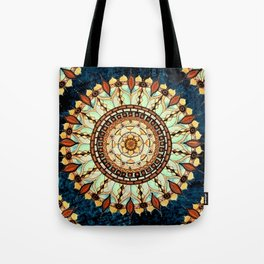 Sketched Mandala Indian Bohemian Hippie Zen Spiritual Yoga Mantra Meditation Tote Bag