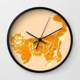 Maine Coon Me Wall Clock