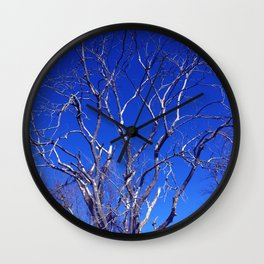 Dead Tree Defiance Wall Clock