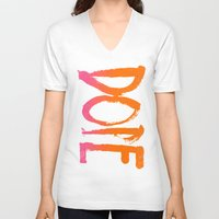 dope V-neck T-shirts featuring DOPE by Matthew Taylor Wilson