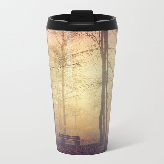 Lover's Bench Metal Travel Mug