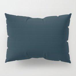 Texan Football Team Deep Steel Blue Solid Mix and Match Colors Pillow Sham