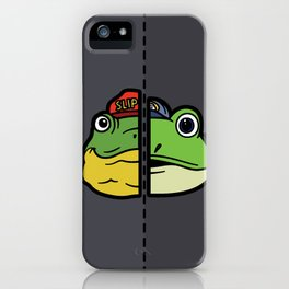 Old & New Slippy Toad iPhone Case