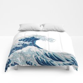 The Great Wave Comforters