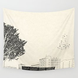 Tom's Favourite Spot —Angels Knoll Park, LA —(500) Days of Summer Wall Tapestry