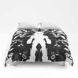 Ink Blot Link Kleptomania Geek Disorders Series Comforters