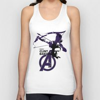clint barton Tank Tops featuring Clint by Mad42Sam