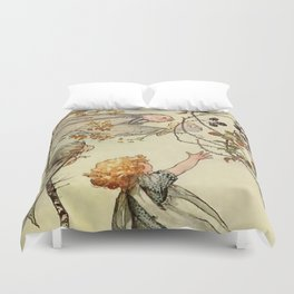 """""""Bother the Wind"""" by Duncan Carse Duvet Cover"""
