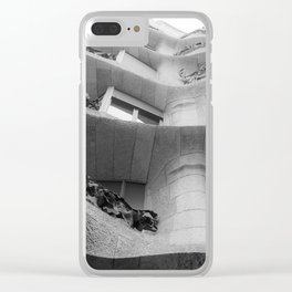 Curves and Ironwork Clear iPhone Case