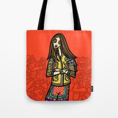 the power of 5. one Tote Bag