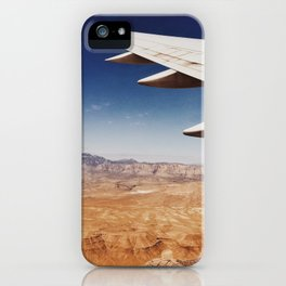 Flight Over Vegas iPhone Case