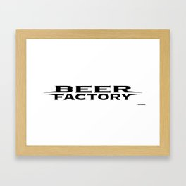 Beer Factory Framed Art Print