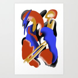 Blinded by Beauty Art Print