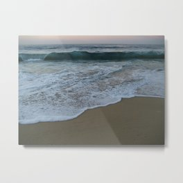 Teal Waters Metal Print