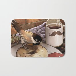 The Bagel Thief Bath Mat