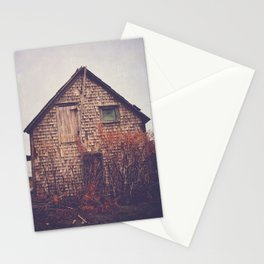 She Created Stories About Abandoned Houses Stationery Cards