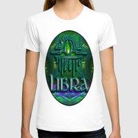 astrology T-shirts featuring Libra Zodiac Sign Astrology by CAP Artwork & Design