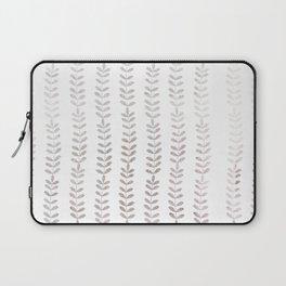 Silver leaf trellis Laptop Sleeve