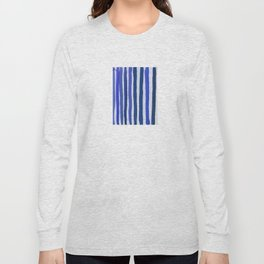 Blue Stripe Long Sleeve T-shirt