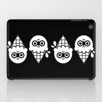 robin hood iPad Cases featuring Robin Hood / Ice Cream by The Pairabirds