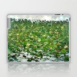 Lily Pads On The River Laptop & iPad Skin