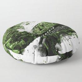Slytherin Nature Floor Pillow