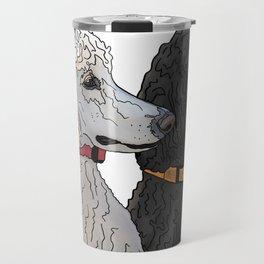Pair of Poodles Travel Mug
