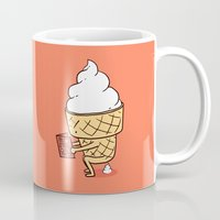 ilovedoodle Mugs featuring Everyone Poops by ilovedoodle by I Love Doodle