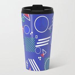 Blue Memphis Youth Travel Mug