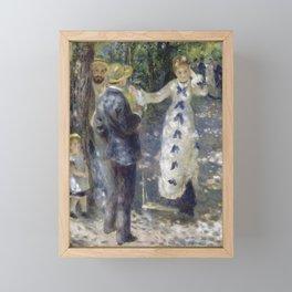 The Swig by Renoir Framed Mini Art Print