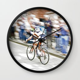 Fast Color  Wall Clock