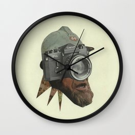 Constantly Digging Wall Clock