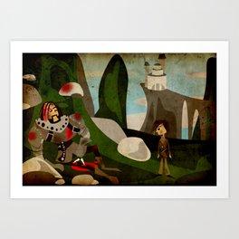 Farwells Art Print