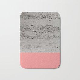 Light Coral on Concrete #2 #decor #art #society6 Bath Mat
