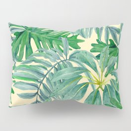 Palm Leaves Pillow Sham