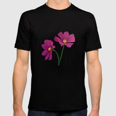 Gift of spring MEDIUM Mens Fitted Tee Black
